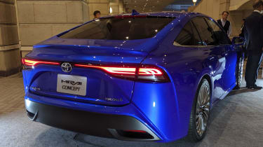 Toyota Mirai - Tokyo Motor Show full rear