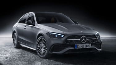 Mercedes C-Class - front studio