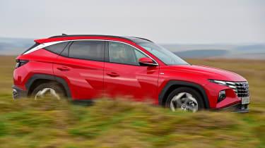 Hyundai Tucson MHEV - side