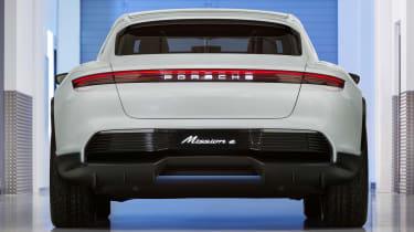Porsche Mission E Cross Turismo - rear