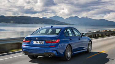 BMW 3 Series - blue rear