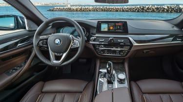 New BMW 5 Series - dash