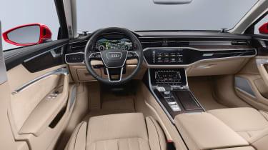 New Audi A6 - dash
