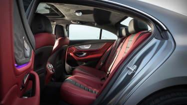 Mercedes CLS 400 d - rear seats