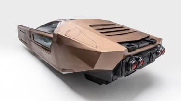 Petersen Automotive Museum  - Spinner Blade Runner - rear static