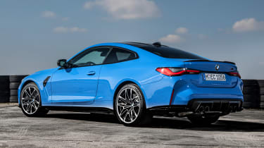 BMW M4 Competition xDrive - rear static