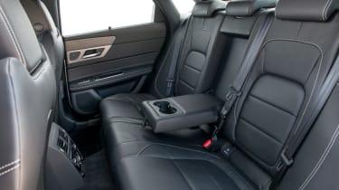 Jaguar XF R-Sport rear seats