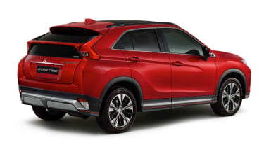Mitsubishi Eclipse Cross rear quarter