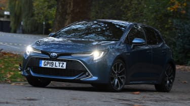 Toyota Corolla hybrid Long term - corner