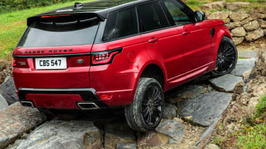 Range Rover Sport - rear off-road