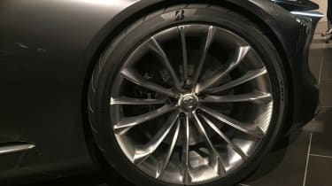 Mazda Vision Coupe concept - reveal wheel