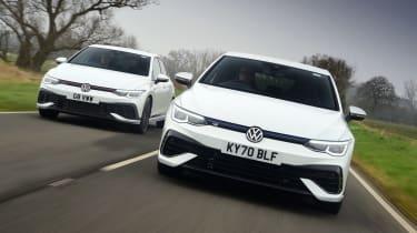 Volkswagen Golf GTI Clubsport vs Volkswagen Golf R - tracking