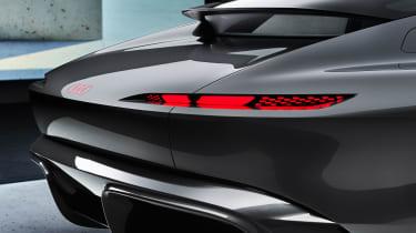 Audi Grandsphere concept - rear lights
