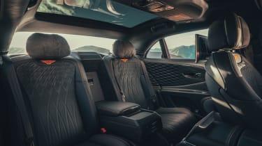 Bentley Flying Spur - rear seats