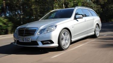 Mercedes E220 CDI Estate Sport front tracking