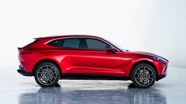 Aston Martin DBX - side studio