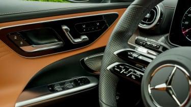 Mercedes C-Class - door detail