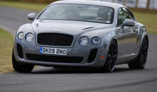 Bentley Continental Supersports coupe front tracking