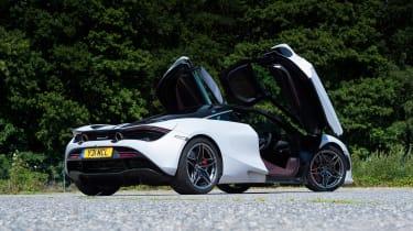 McLaren 720S - rear static doors open