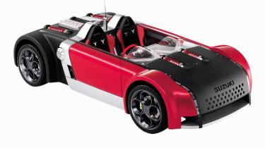Suzuki GSXR - front