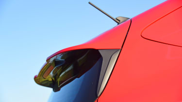 Ford Fiesta Sport Van spoiler
