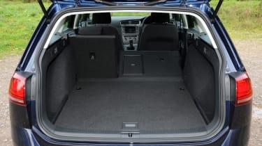 Volkswagen Golf Estate boot space