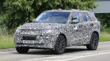 Range Rover Sport spyshot 1