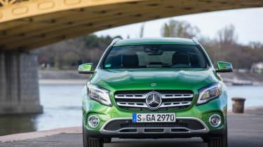 Mercedes GLA 2017 facelift front