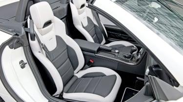 Mercedes SLK55 AMG sport seats