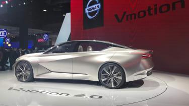 Nissan Vmotion 2.0 concept - Detroit side 2