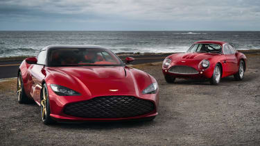 Aston Martin DBZ Centenary Collection - full front