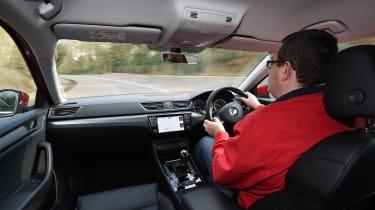 Skoda Superb long-term test - first report John driving