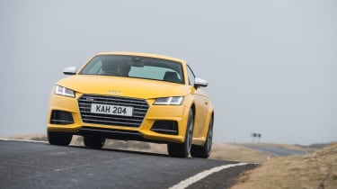 The Audi TTS is the most powerful new TT so far.