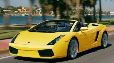 Best cheap convertibles - Lamborghini Gallardo