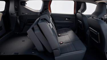 Dacia Jogger - seats