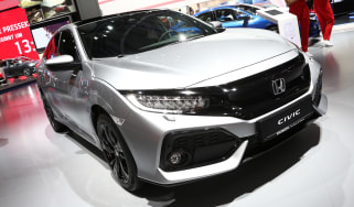 Frankfurt - Honda Civic diesel - front