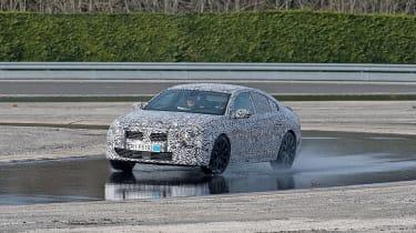 Peugeot 508 testing - water