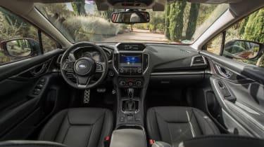 Subaru Impreza 2017 - interior