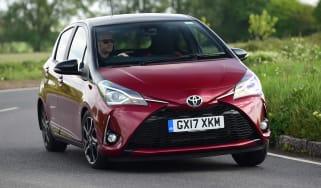 Toyota Yaris - front cornering