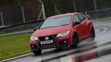 Honda Civic Type R long term - cornering