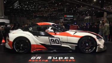 Toyota GR Supra concept Geneva 2018 side