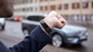 Volvo Microsoft smartwatch tech
