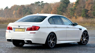 BMW M5 Competition Pack rear static