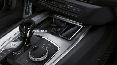 New BMW Z4 transmission tunnel