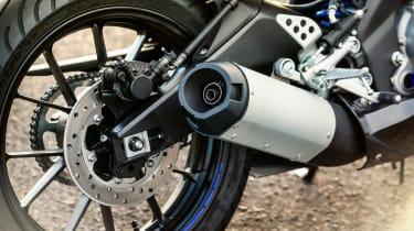 Yamaha YZF-R125 brakes