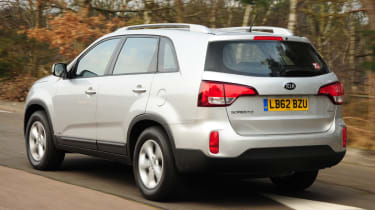 Kia Sorento 2.2 CRDi KX-2 rear tracking