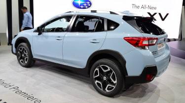 New Subaru XV SUV Geneva - rear