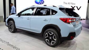 New Subaru XV SUV Geneva - rear