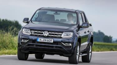 Volkswagen Amarok V6 - front tracking 3