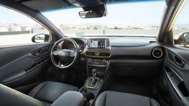 Hyundai Kona - front seats